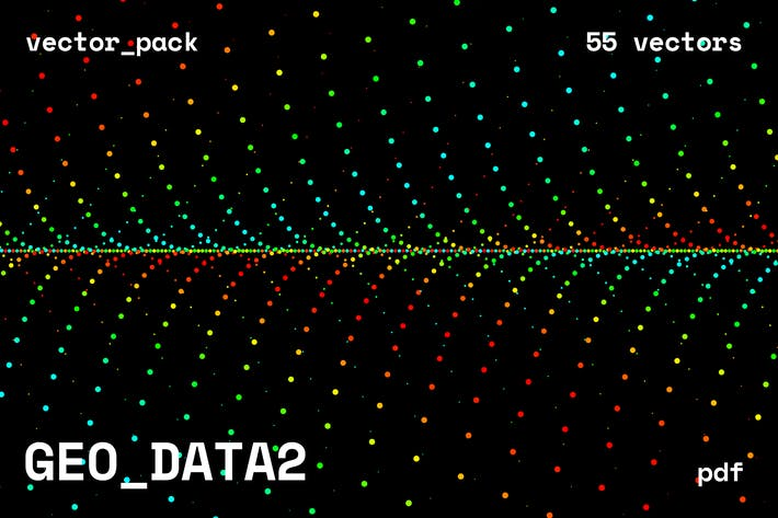 Cover Image For GEO_DATA2 Vector Pack