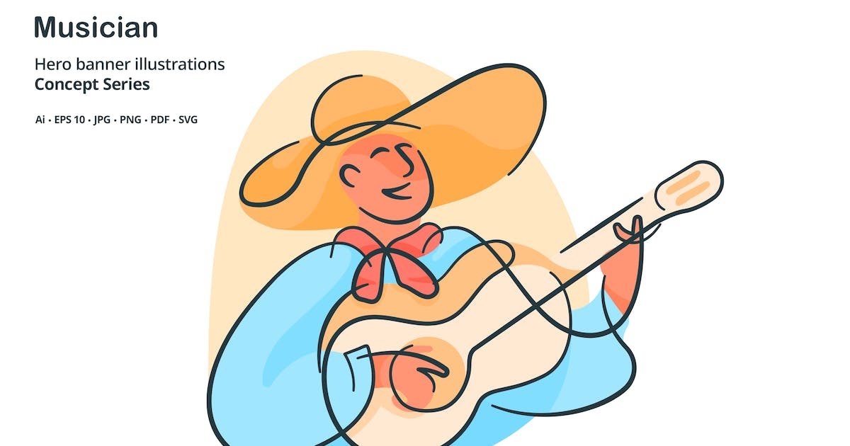 Download Musician Occupation Vector Illustration by roundicons