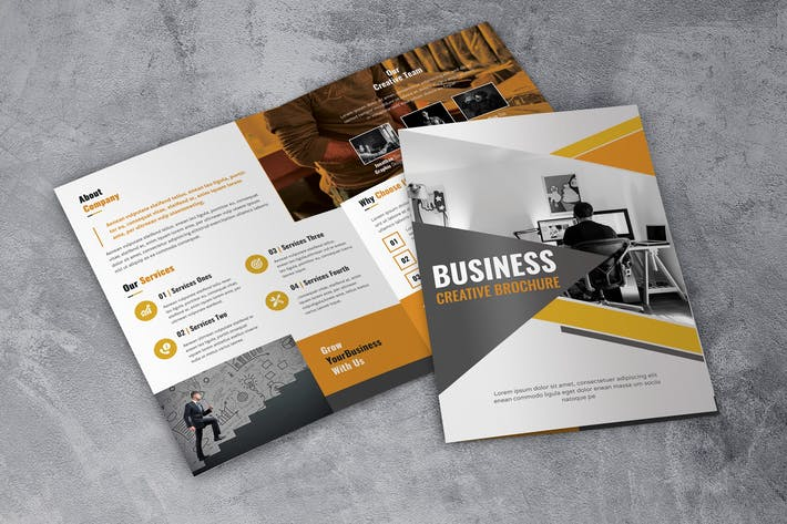 Thumbnail for Business Creative - Bifold Brochure
