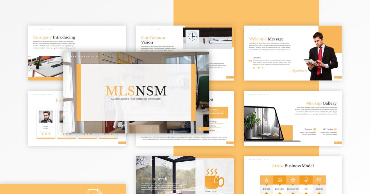 Download Mlsnsm - Multipurpose Keynote Template by CocoTemplates