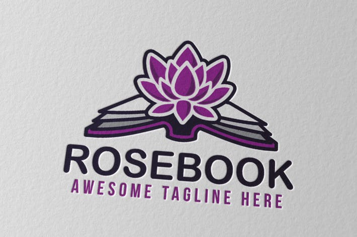 Thumbnail for Rosebook Logo