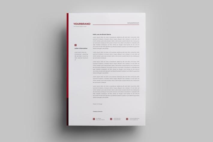 Thumbnail for Letterhead Design Templates.13
