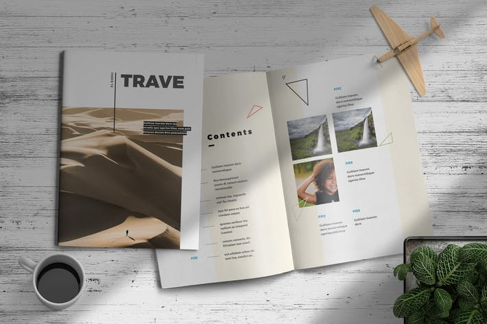 Thumbnail for Trave | Magazine Template