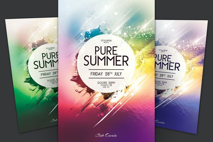 Thumbnail for Pure Summer Flyer