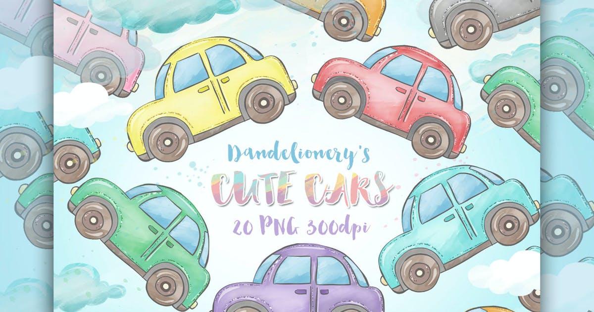 Download Cute Cars clipart by designloverstudio
