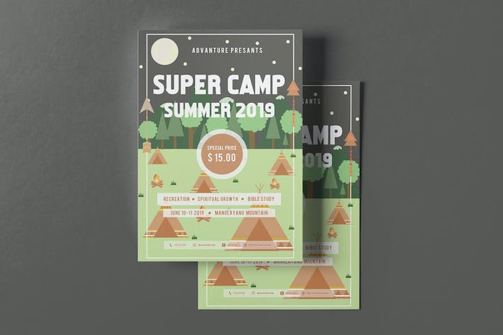 Thumbnail for Super Camp Flyer