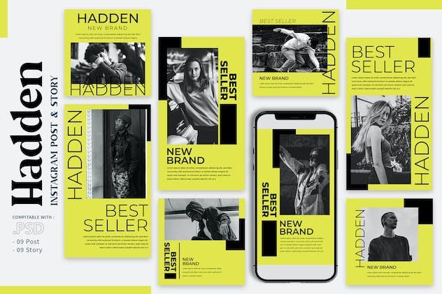 Hadden - Instagram Templates