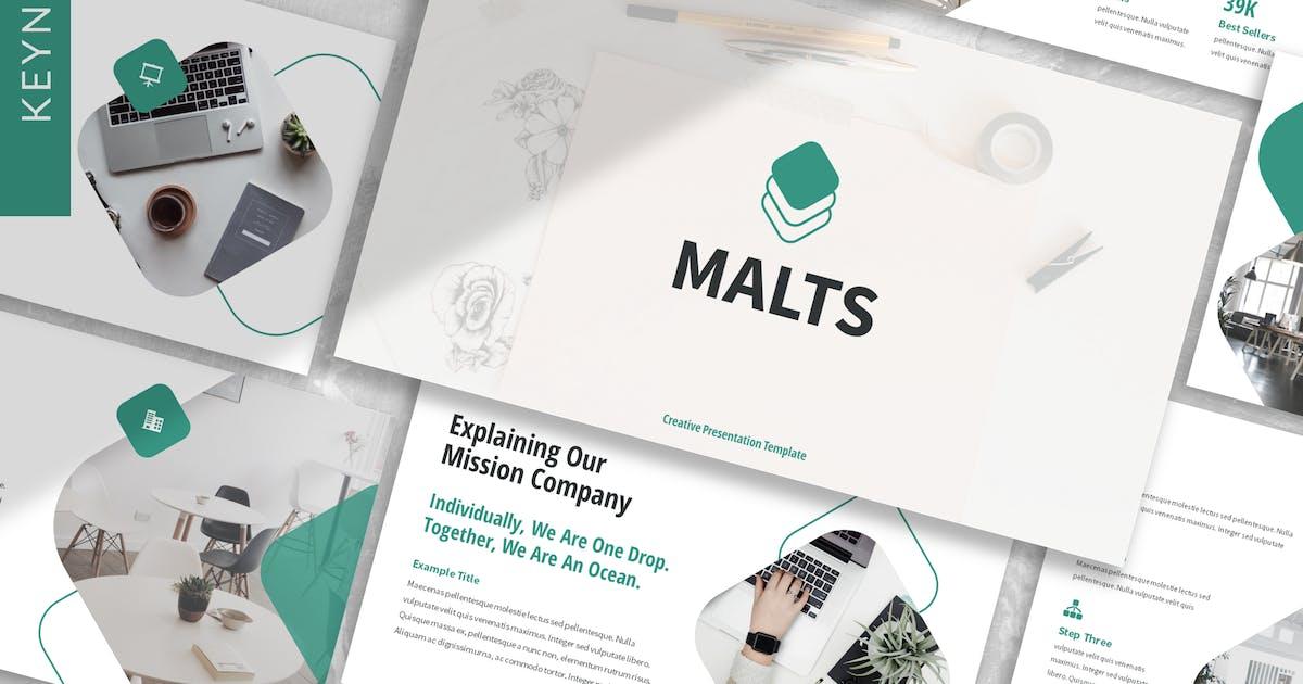 Download Malts - Business Keynote Template by designesto