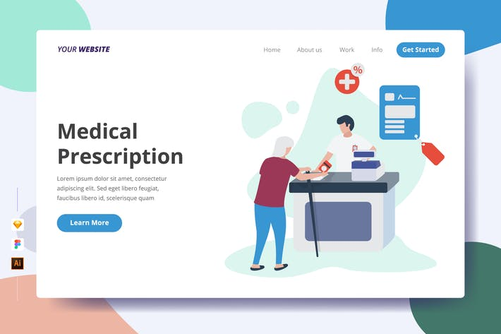 Thumbnail for Medical Prescription - Landing Page