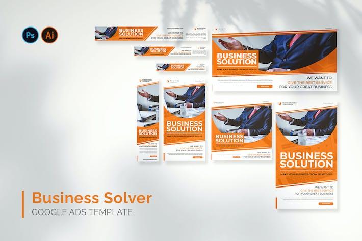 Business Solver - Google Ads Design Template