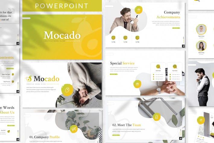 Thumbnail for Mocado - Plantilla de PowerPoint de negocios
