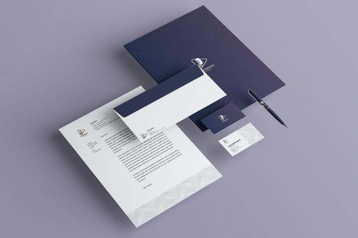 Thumbnail for Recording Studio Branding Identity & Stationery Pa
