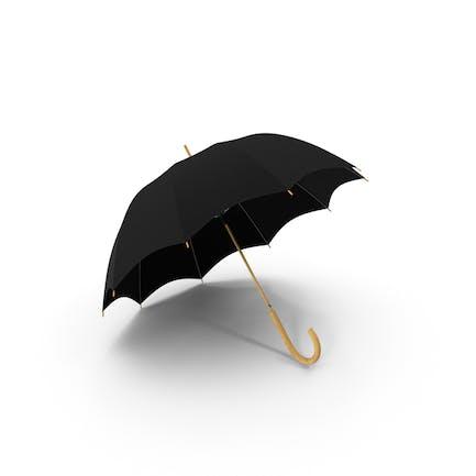 Offener Regenschirm