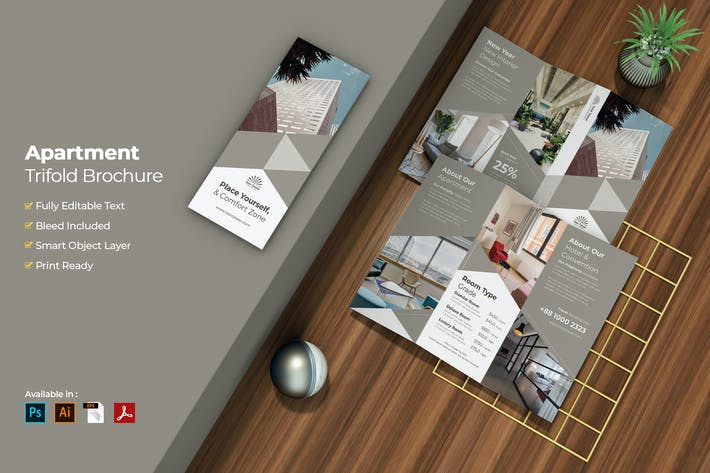 Thumbnail for Appartement Immobilier Triple Brochure