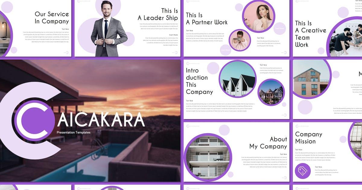 Download Caicakara - Keynote Template by inspirasign