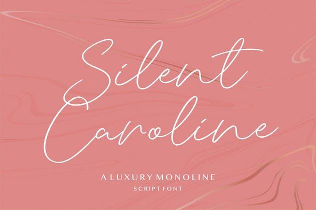 Silent Caroline Script Font YH