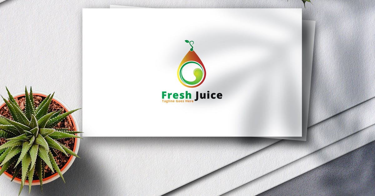 Download Fresh Juice Logo by Voltury