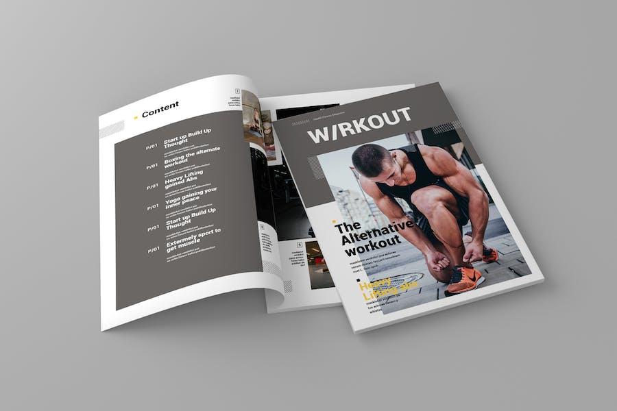 Wrkout - Magazine Template