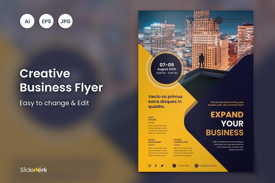 Creative Business Flyer 38 - Slidewerk