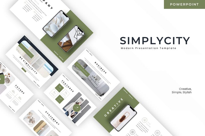 Thumbnail for Simplycity - Powerpoint Template