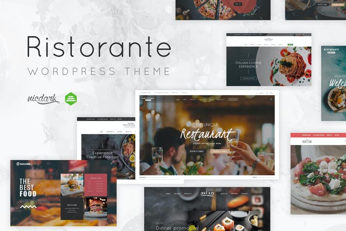 Thumbnail for Restaurant WordPress Theme