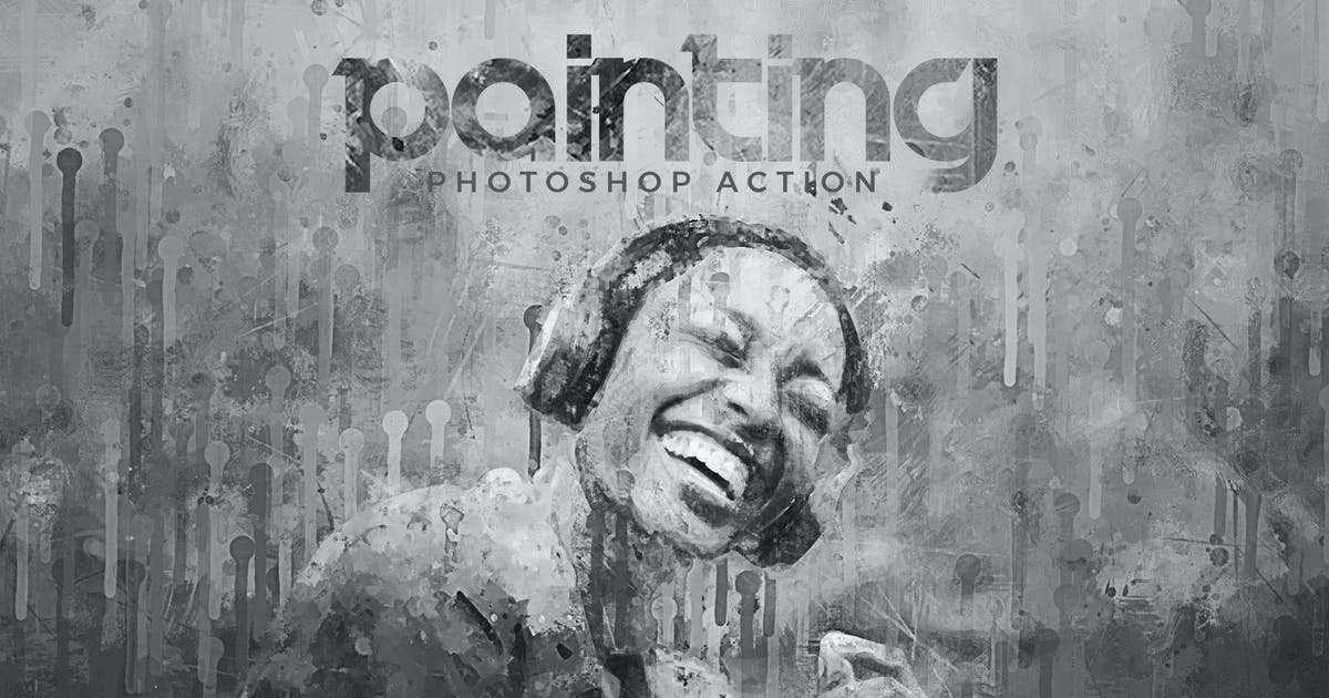 Download Painting Photoshop Action by Hemalaya1
