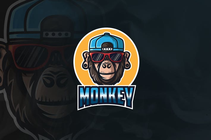 Thumbnail for Monkey Business - Mascot & Esport Logo