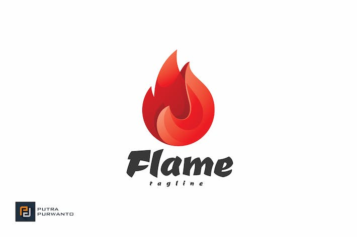 Thumbnail for Flame - Logo Template