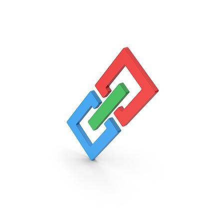 Symbol Glieder/ Kette