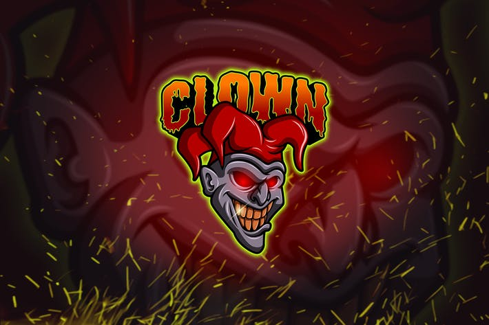 Thumbnail for Clown - Esports & Mascot Logo YR