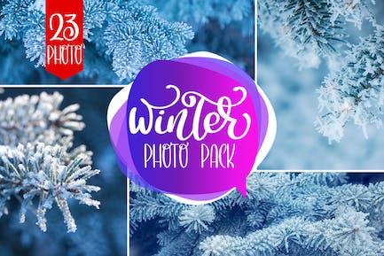 Winter Photo Pack
