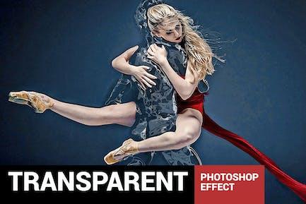 Liquidum - Прозрачная живопись Photoshop Действие