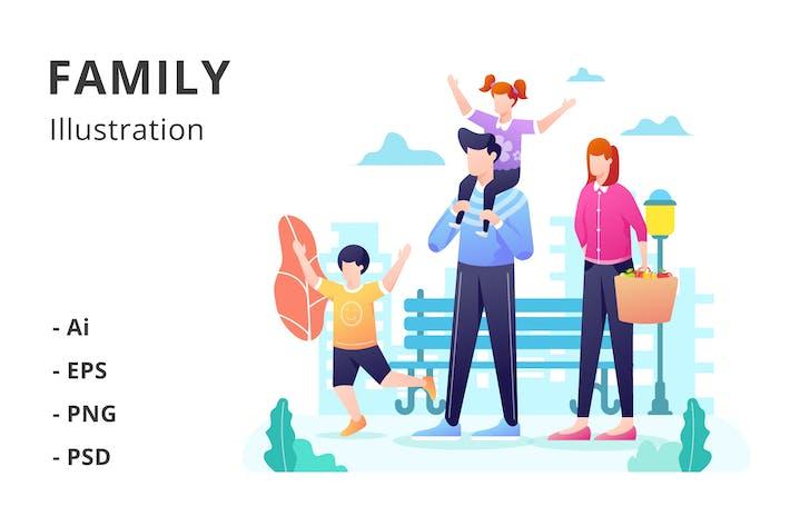 Thumbnail for Family Illustration