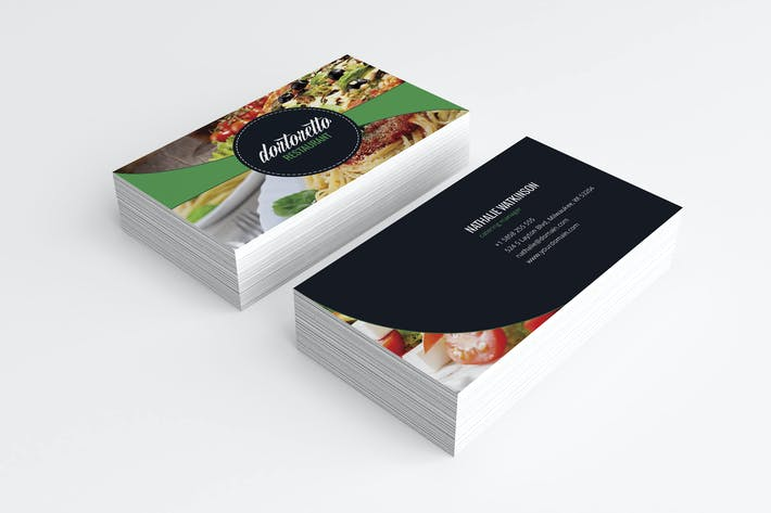 Thumbnail for Dortoretto Business Card v2