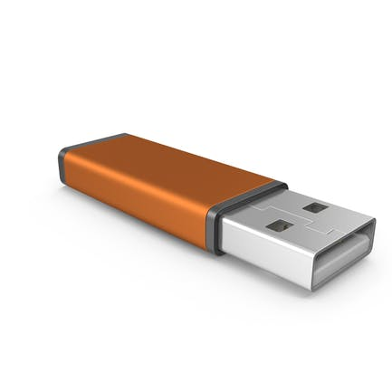 Orange USB Stick
