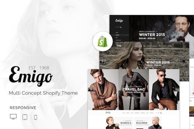 Emigo | Multi Concept Shopify Theme