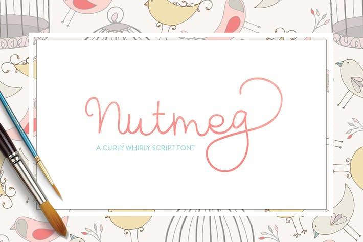 Thumbnail for Nutmeg Font