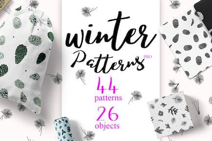 44 Winter patterns set