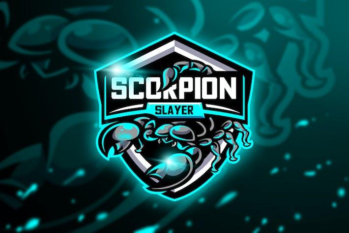 Thumbnail for Scorpion Slayer - Mascot & Esport Logo