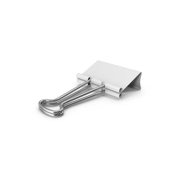 Thumbnail for Clip para encuadernador, color blanco