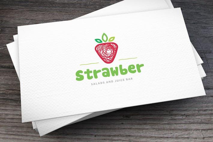 Thumbnail for Strawber Logo Template
