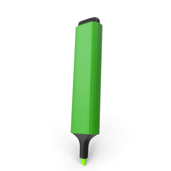 Highlight Marker Green