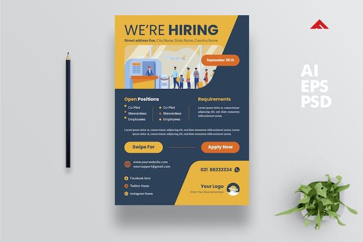 Thumbnail for Pilot/Airport Crew Job Vacancy Advertisement