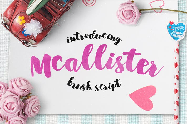 Thumbnail for Mcallister Brush Script
