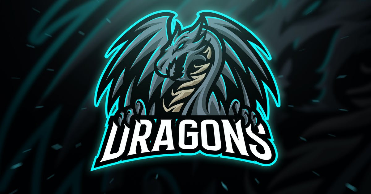 Download Dragons Sport and Esport Logo Template by Blankids
