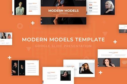 Modern Models - Google Slide Template