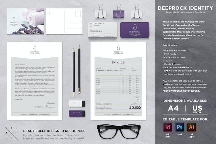 Thumbnail for Deeprock Stationery Set & Invoice