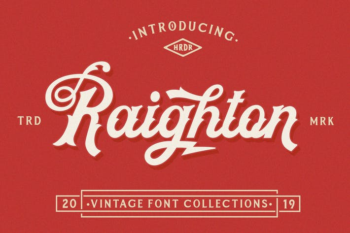 Thumbnail for Raighton Font Collections!