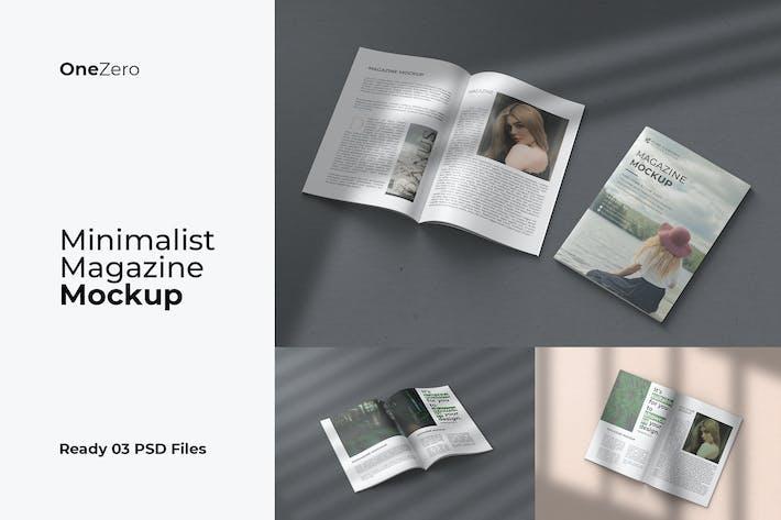 Thumbnail for Maquet de magazine minimaliste