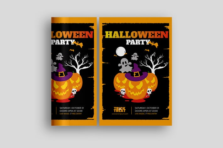 Halloween Poster Promotion